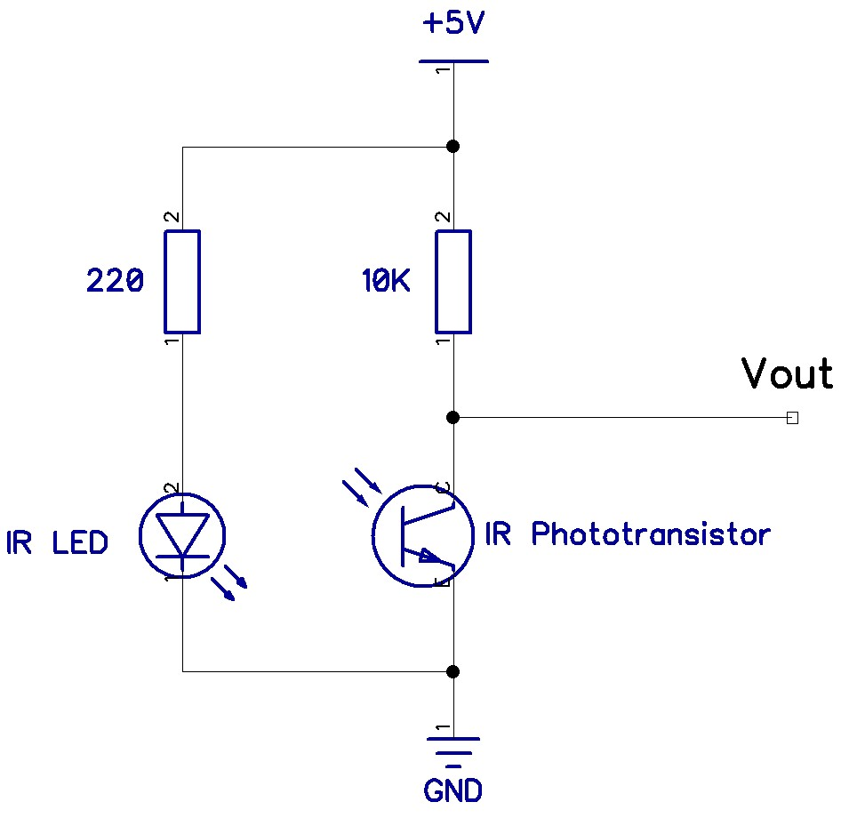 Spi Sanders Techblog Wiringpi Not Working Figure 10 Circuit Diagram For A Reflective Sensor