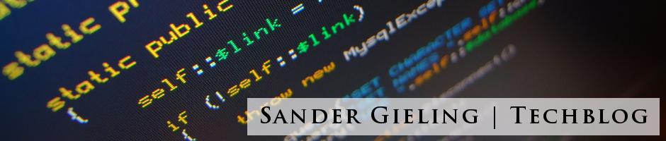 Sander's Techblog